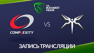 compLexity vs Mineski, Bucharest Major [Jam, Lum1Sit]
