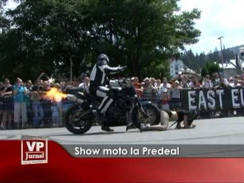 Show moto la Predeal