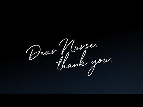 Dear Nurse, thank you