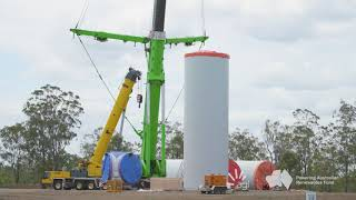 Coopers Gap Wind Farm Construction Update Nov 2018