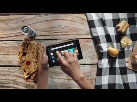 Fire HD 8 Tablet with Alexa, 8 HD Display, 32 GB, Black