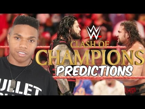 WWE Clash of Champions 2016 PPV Full Match Card Predictions!