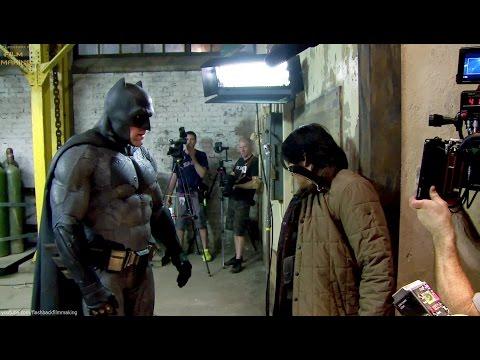 Batman \ Bruce Wayne 'Batman v Superman' Behind The Scenes [+Subtitles]