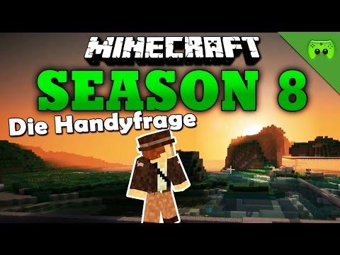 DIE HANDYFRAGE «» Minecraft Season 8 # 105   Full HD