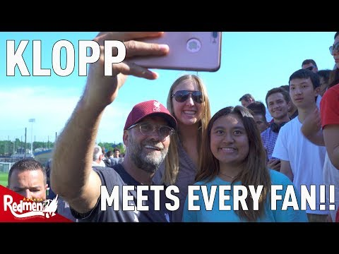 Klopp Spends An Hour With The Fans! | Liverpool Training Session