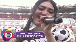 Video Via Vallen - Sayang | Piala Presiden 2018 MP3, 3GP, MP4, WEBM, AVI, FLV Mei 2018