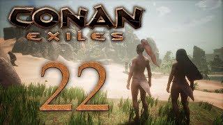 Conan Exiles — прохождение игры на русском — Снова джунгли, проход в зимний биом [#22] | PC