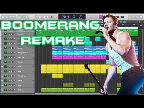 Imagine Dragons - Boomerang Instrumental Remake (Production Tutorial) Mp3