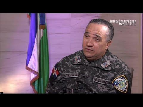 Nuria Piera entrevista de tú a tú al Director de la Policía Nacional, Ney Aldrín Bautista - (2/3)