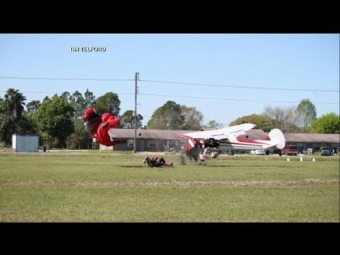 gets - Local photographer catches mid-air collision.