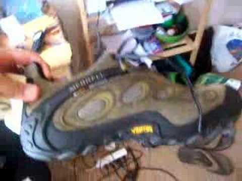 Test de chaussures Merrel