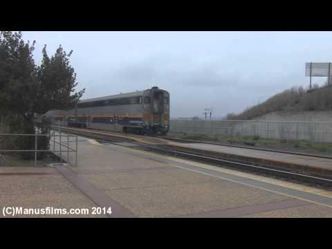 Amtrak Heritage Unit #184 On Capial Corridor #537 At Suisun City/Fairfield