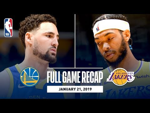 Video: Full Game Recap: Warriors vs Lakers | Klay Hits 10 Straight 3-Pointers