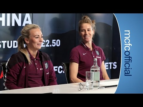 ENGLAND V CHINA Q&A | Duggan and Bardsley on women's football.