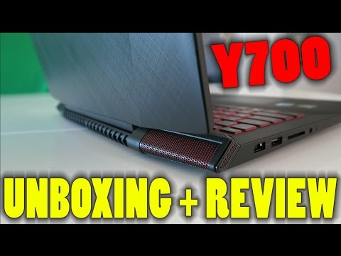 """, title : 'Lenovo Y700 15.6"""" Gaming Laptop - Unboxing & First Impressions'"""