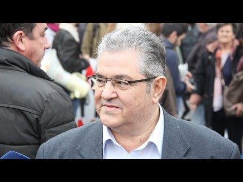 Statement by Dimitris Koustoumpas, KKE's General Secretary, at PAME's General Strike demonstration