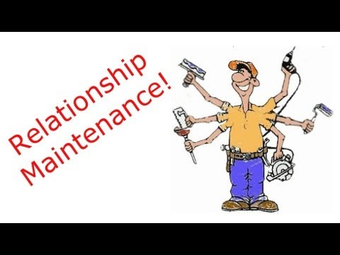 Relationship Maintenance 📕 David Spates video diary # 36