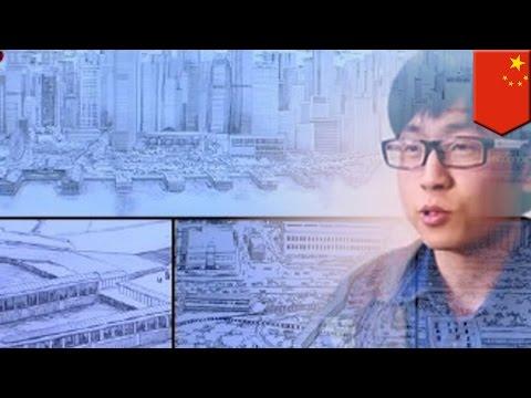 Super Eidetic memory: Artist draws 7,000-building Hong Kong panorama from memory