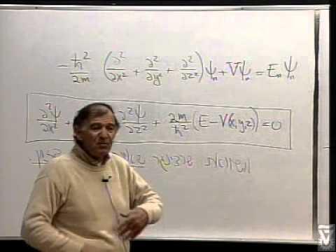Quantum Theory 1 - Vorlesung 02