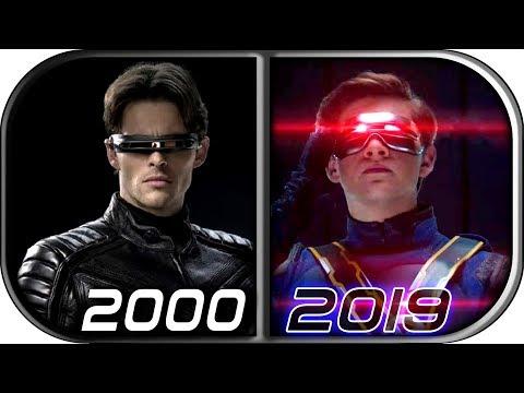 EVOLUTION of CYCLOPS in MOVIES (2000-2019) X-Men Dark Phoenix Cyclops movie scene 2019 cyclops death