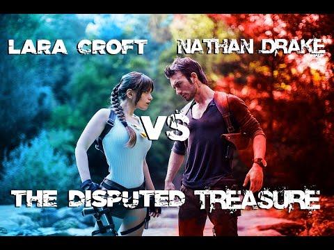 Nathan Drake vs Lara Croft - The Disputed Treasure