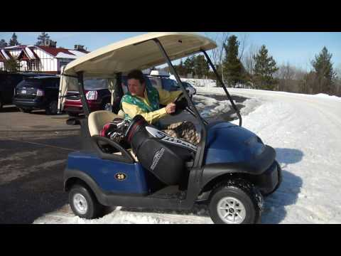 Funny Golf Movie: A Lesson in Winter Golfing