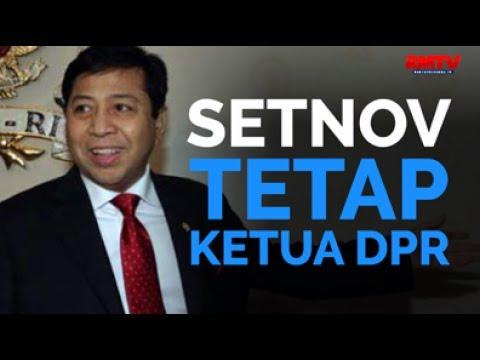 Setnov Tetap Ketua DPR