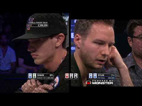 Monster Hand of the Day, WPT Season 12 Shooting Star - Shaun Suller
