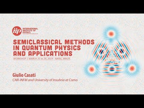 Complexity in quantum many body dynamicsv - Giulio Casati