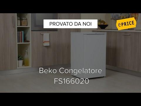 Video Recensione Congelatore Verticale Beko FS166020