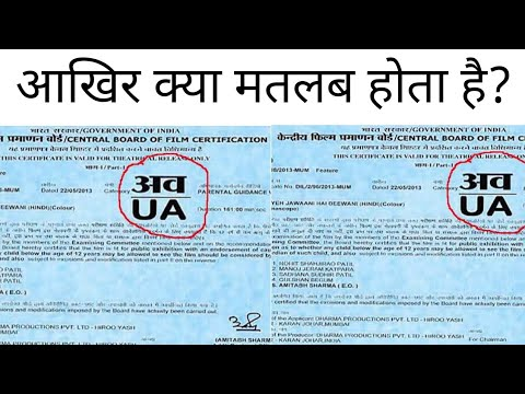 What is CBFC ? Movie Certificate | Censor Board Certification Process In Hindi