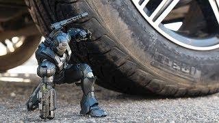 Car Vs Iron Man 4