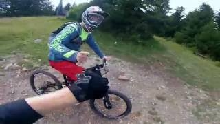 Video Malinô Brdo Bikepark - Modry zamat - GoPro Hero 4 Session MP3, 3GP, MP4, WEBM, AVI, FLV Mei 2017