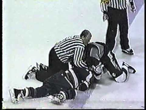 When hockey Fights Turn Dirty