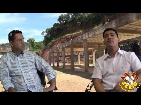Prefeito Arizinho fala sobre a retomada da obra da Praça do Pac de São Lourenço da Serra