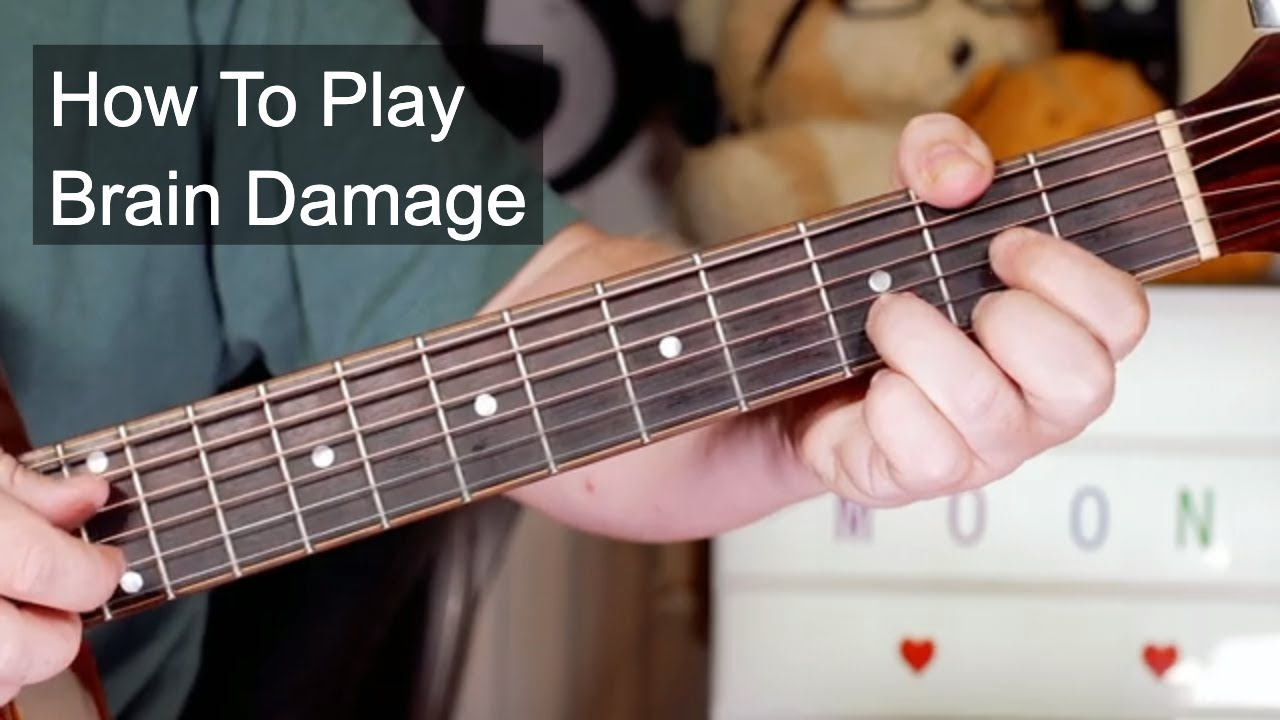 'Brain Damage' Pink Floyd Acoustic Guitar Lesson