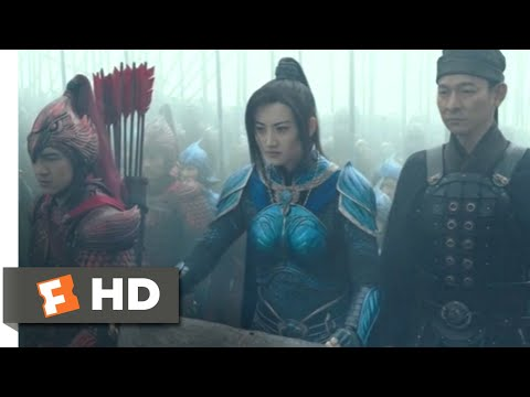 The Great Wall (2017) - Death Blades And Harpoons Scene (6/10) | Movieclips