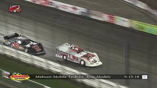 Knoxville Raceway: Malvern Bank SLMR Late Models 9-15-2018