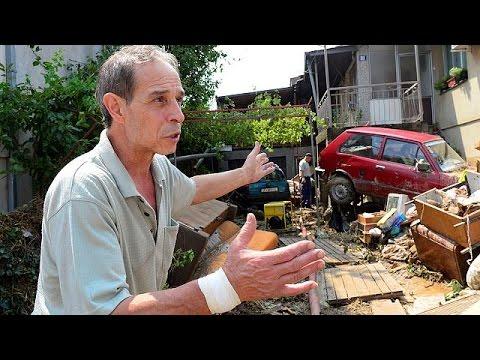 Σε κατάσταση έκτακτης ανάγκης τα Σκόπια μετά τις φονικές πλημμύρες