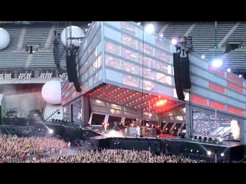 Muse - Uprising - Paris Stade de France 12 Juin 2010 - Multicam preview by achtungpop