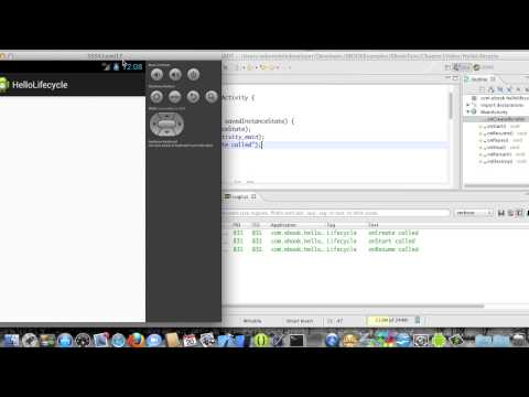Android Development Course - Chapter 4 - HelloLifecycle