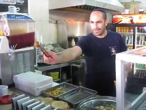 Falafel Guy Has Epic Skills