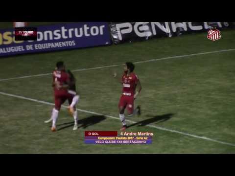 13º Rodada - Campeonato Paulista Série A2 2017 - VELO CLUBE 1 x 0 SERTÃOZINHO