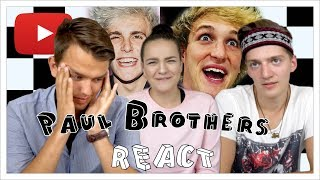Ürita Mitte naerda REACT  Eesti YouTuberid Selles osas viskavad Youtuberid pilgu peale Paulide vennaskonnale, kes hetkel kõige rohkem kõmu on siin ...