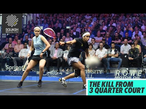 Squash tips: The Kill From 3 Quarter Court with Jethro Binns