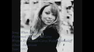 Mariah Carey-When I Saw You(with Onscreen Lyrics)