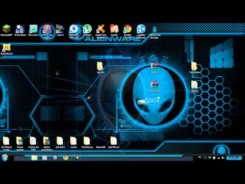 Temas para windows 7 - Canal De Erick (y si ees esto buen tema): http://www.youtube.com/user/ERICKTIENEDETODO?feature=watch Tema alien: https://mega.co.nz/#!JBBWmTJR!FsS60xAe1a5veB...