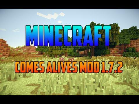 Minecraft 1.7.2 – Como Descargar e Instalar Comes Alives MOD – ESPAÑOL