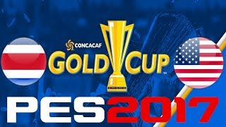 It's time for the #GoldCup2017!#CRCvUSA simulated in #PES2017Enjoy! You can find me onFacebook - https://www.facebook.com/corocusTwitter - https://www.twitter.com/corocus