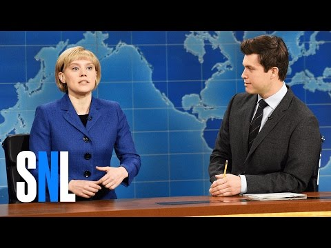 Weekend Update Angela Merkel on Donald Trump - SNL
